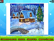 Winter House Puzzle Jigsaw