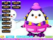 Adorable Penguin Dressup