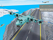 Airplane Flight 3D Simulator