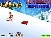 Alvin Downhill Skiing