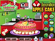 Apple Cake Decoration