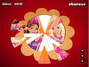 Barbie Fantasy Tale - Round Puzzle