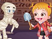 Baby Hazel Archaeologist Dressup