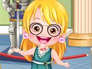 Baby Hazel As Museum Curator Dressup