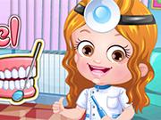 Baby Hazel  Dentist Dressup