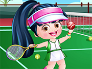 Baby Hazel Tennis Dressup