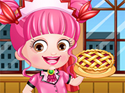 Play Baby Hazel Waitress Dressup