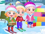Baby Hazel Winter Fun 2
