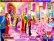 Barbie in Royal Party Hidden Letters