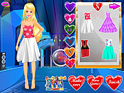 Barbie Valentine Dress Up