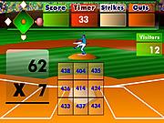 Batter's Up Baseball (Multiplication)