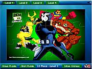 Ben 10 all powers Jigsaw