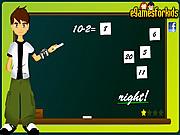 Ben 10 Math Game