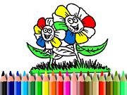 BTS Flowers Coloring