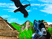 Play Chicken and Crow Shoot