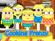 Cooking Frenzy: Minion Lollipops