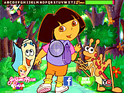 Dora and Friends Hidden Letters