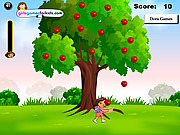 Dora Apples Catching