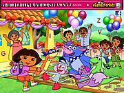 Dora Hidden Alphabets