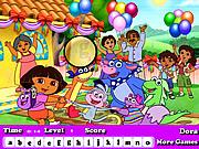 Dora Hidden Letters Game