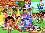 Dora\'s Birthday Hidden Letters