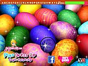 Easter Eggs Hidden Letters
