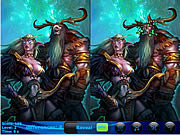 Elven arrows. 5 Differences