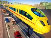 Euro Train Simulator Game 3D