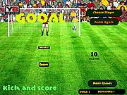 Football Kick And Score