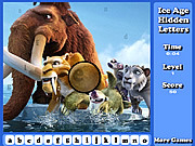 Ice Age Hidden Letters
