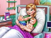 Ice Princess Twins Birth