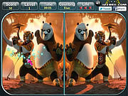 Kung Fu Panda 2 - Spot the Difference