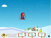 Play Mario Ice Skating