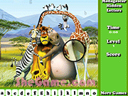 Madagascar Hidden Letters