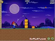 Mario Shoot Pumpkin