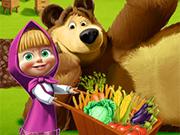 Masha and The Bear Farming