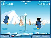 Penguin Volleyball