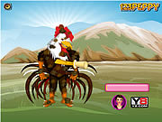 Peppy's pet caring Rooster