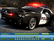 Police Cars Hidden Letters