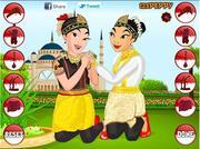 Saman Dance Dressup