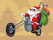 Santa Driver Coloring Book