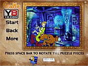 Scooby Doo Jigsaw Puzzle Y8