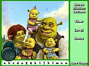 Shrek Hidden Letters