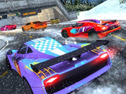 Snow Driving Car Racer Track Simulator