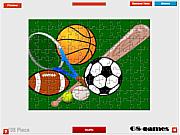 Sport Balls Jigsaw