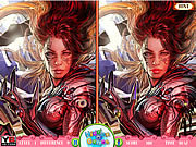 Spot the Difference-Warrior Girls
