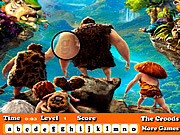 The Croods Hidden Letters