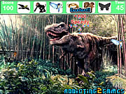 The Forest Dinosaurs Hidden Objects