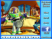 Toy Story Hidden Letters