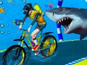Under Water Bicycle Racing